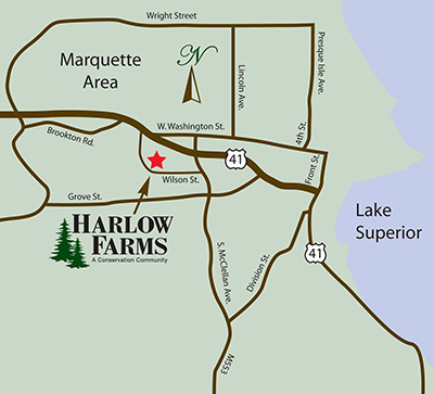 Directions to Harlow Farms